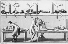 Giovanni Aldini's experiments with a human corpse - Wellcome Collection CC by SA 4.0