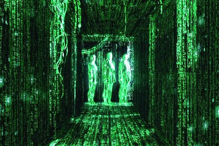 Agents in the Matrix seen as code