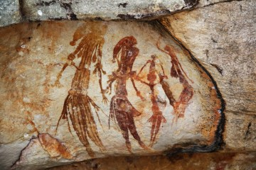 Bradshaw_rock_paintings (CCSA2.0 licence, author HappyWaldo)