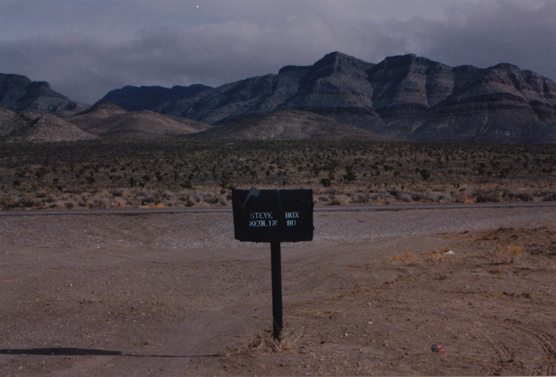 Iconic Area 51 'Black Mailbox'