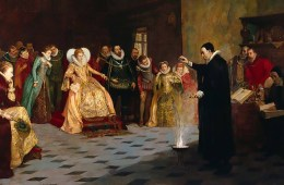 John Dee in the court of Queen Elizabeth I