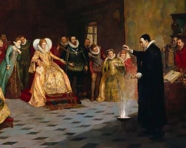John Dee in the court of Queen Elizabeth I