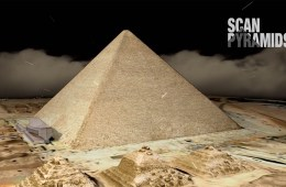 Great Pyramid, from the Scan Pyramids Project