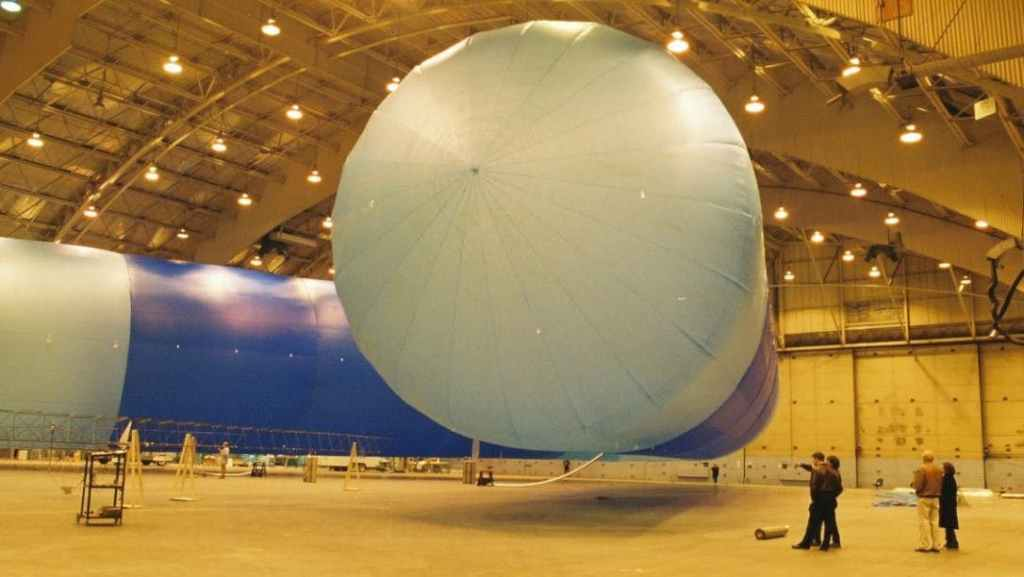 Inflated airship spacecraft prototype from JP aerospace