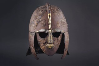 Reconstructed helmet from Sutton Hoo