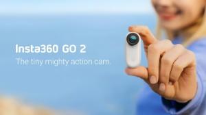 Insta360, 세계에서 가장 작고 가장 작은 액션 캠 'Insta360 GO 2'출시