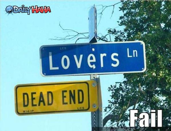 Lovers Lane Dead End