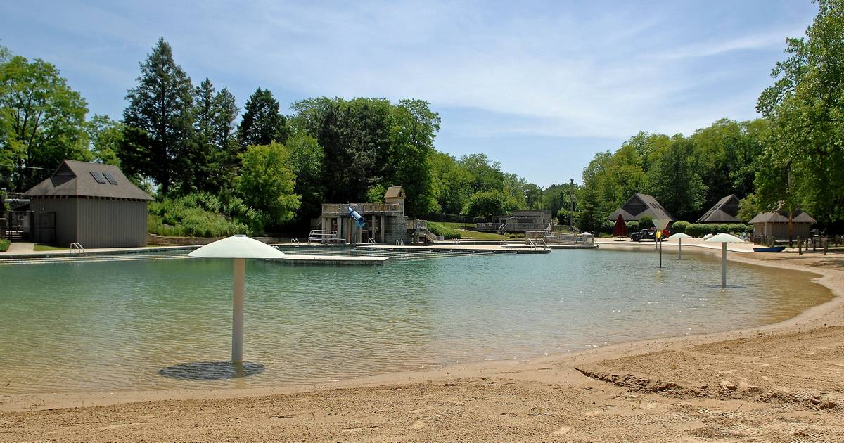 Repaired Quarry Beach ready to welcome crowds Friday
