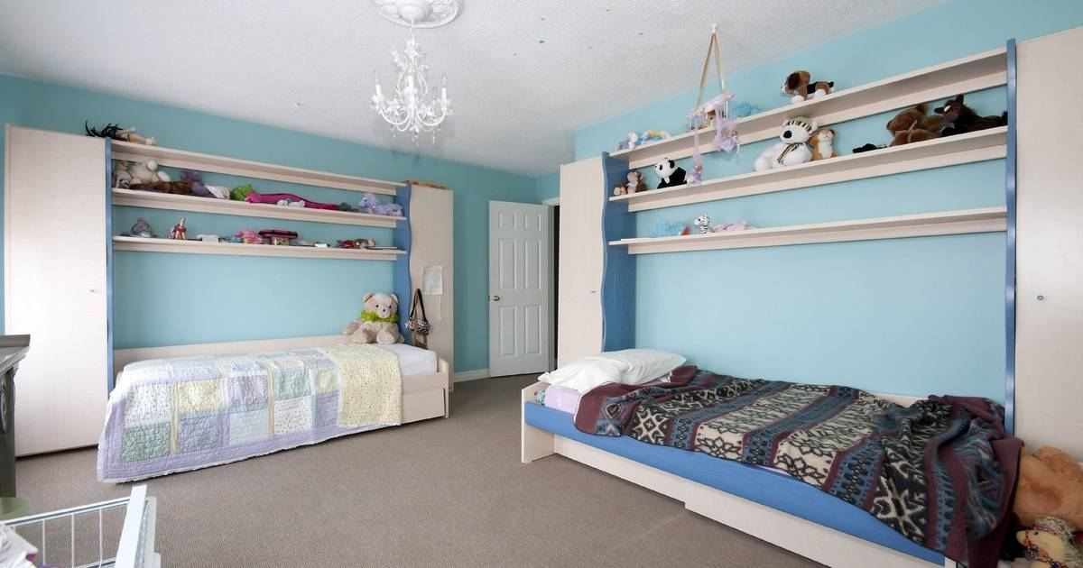 Sisters bedrooms reflect different personalities