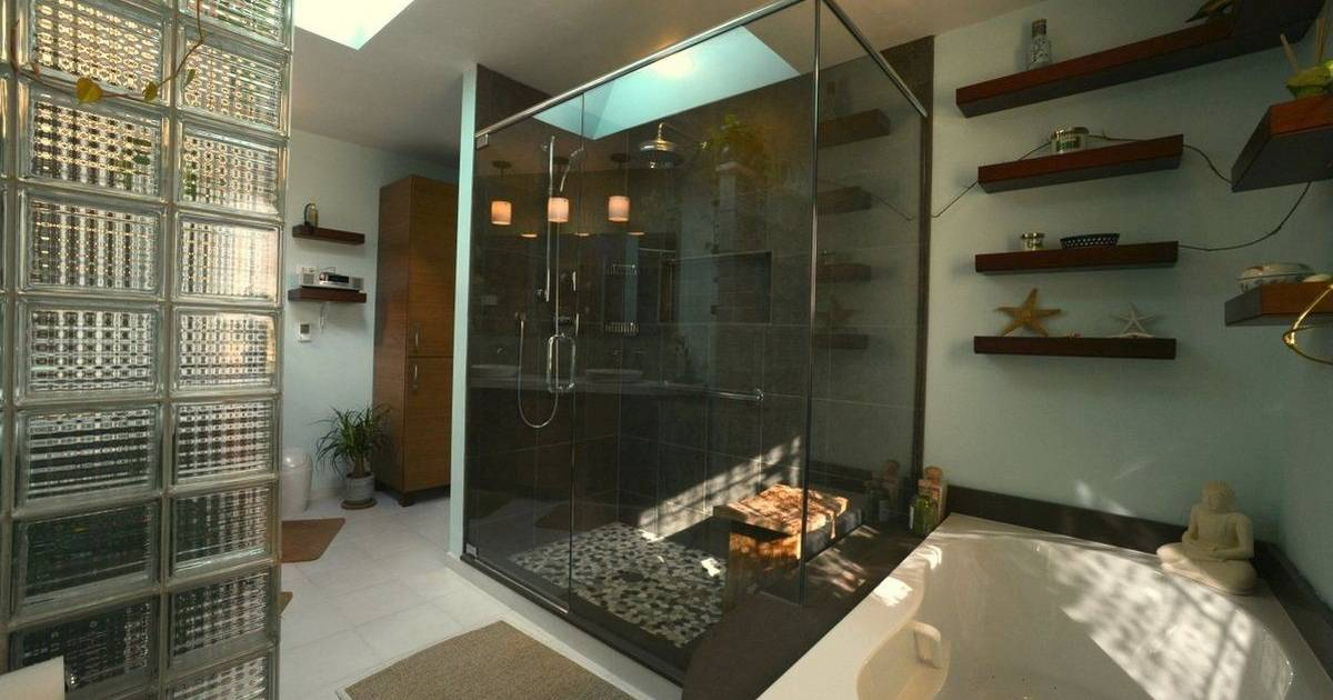 Couples opt for calming Asianinspired designs for master bath