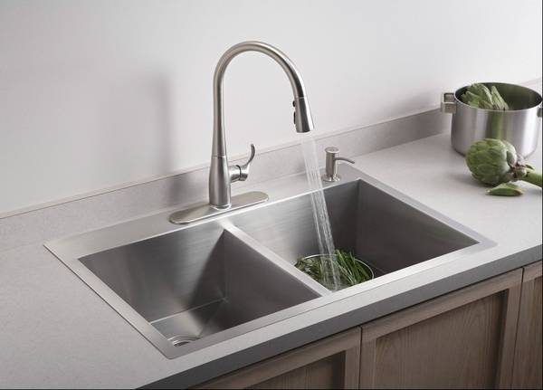 soap dispenser kitchen american standard quince faucet can clean up the look of your a built in be nice addition to any sink