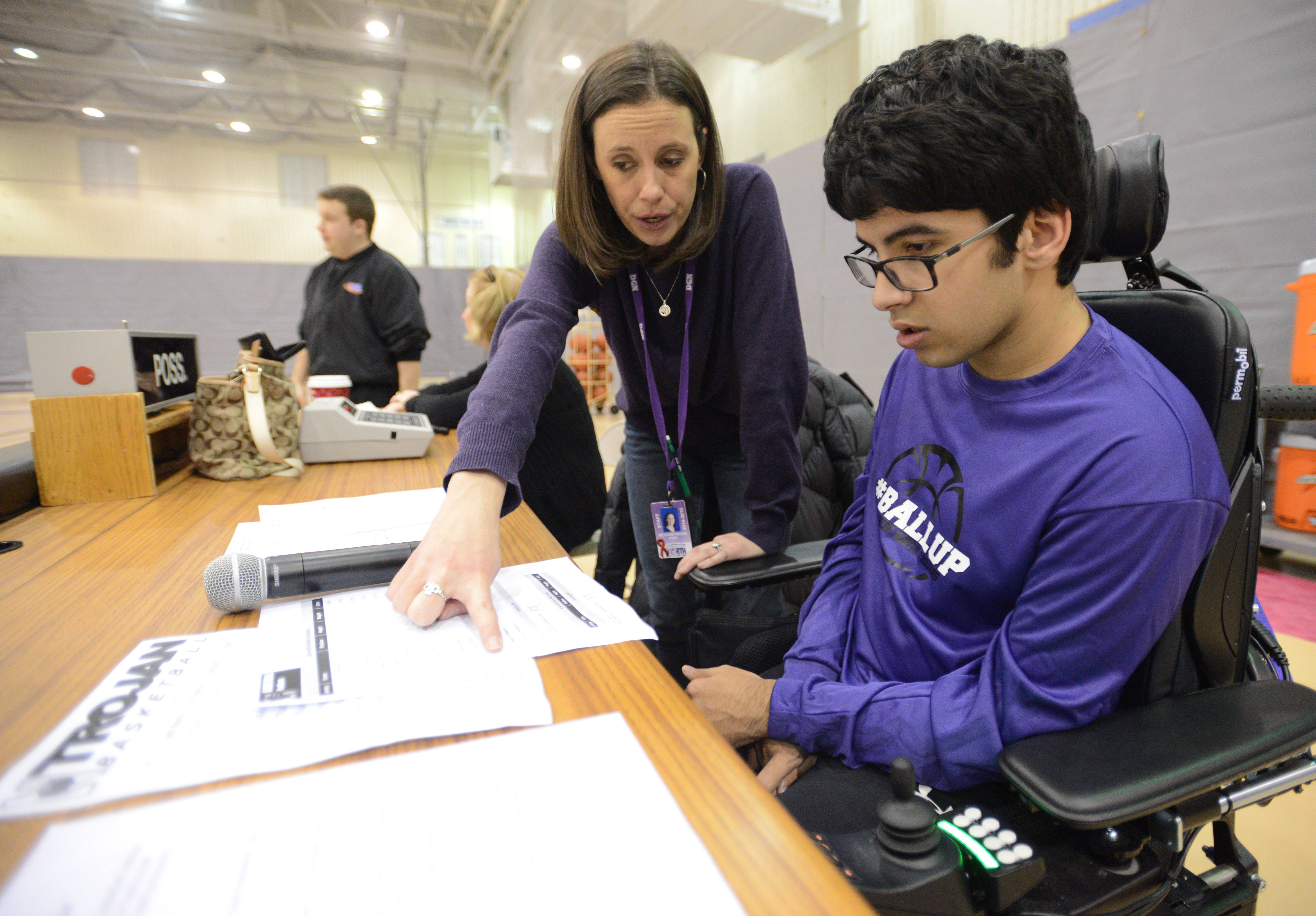 Zain Bando, a 15-year-old freshman at Downers Grove High School, wants to become a professional radio or TV broadcaster.