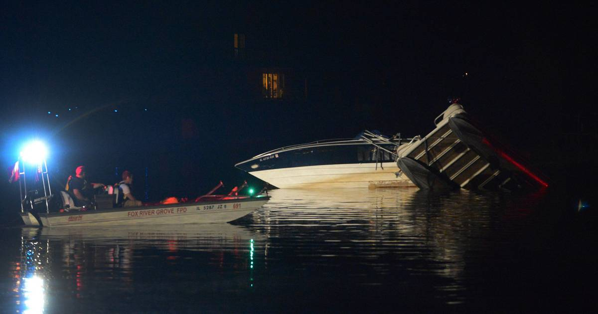 Police Alcohol a factor in Fox River boat crash