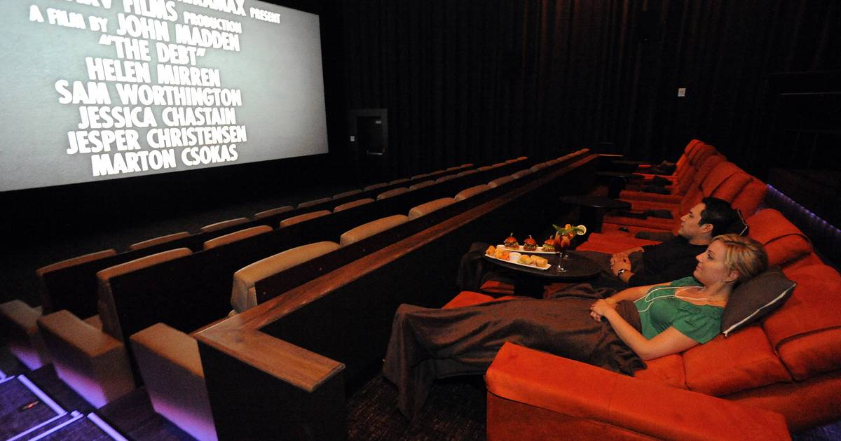 Luxury seats key to renovated suburban movie theaters