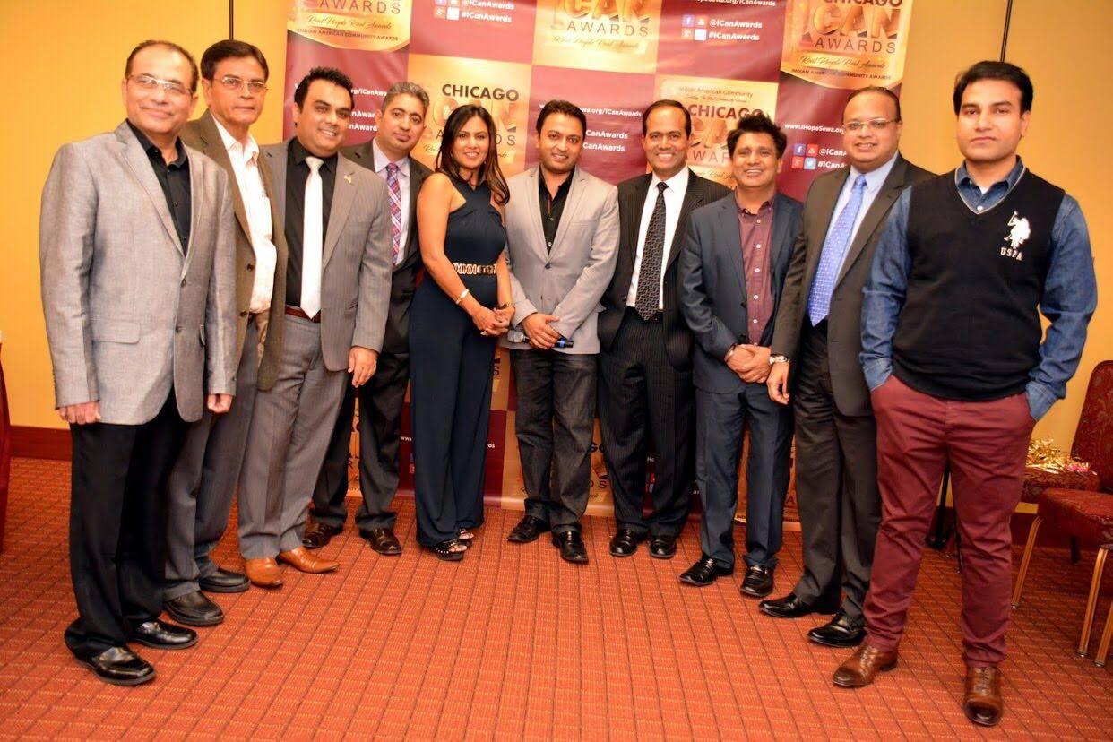 ICAN & Community Leaders: Nilesh Topiwala, Haribhai Patel, Neil Khot, Girish Kapur, Rita Singh, Bhavesh Patel, Sanjeev Singh, Jassi Parmar, Ashfaq Syed and Jag Mohan Rawat.