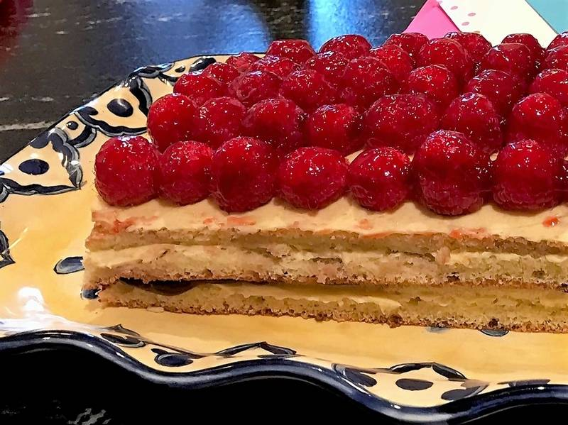 My version of Mary Berry's Opera Cake