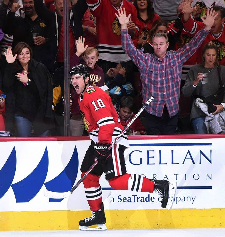 Image result for blackhawks 10-1 sharp goal