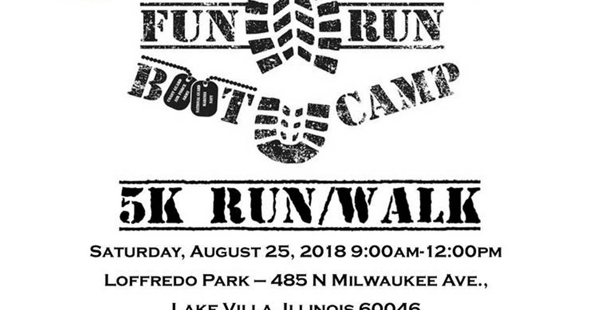 Lake Villa Police Department and ICOPS to Host 5K Bootcamp