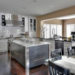 Updated Kitchens Round Kitchen Rugs Local Company Quickly Updates Cabinets Light With White Are All The Rage Right Now