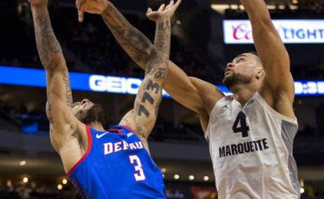 Howard Scores 23 As No 12 Marquette Holds Off Depaul 79 69
