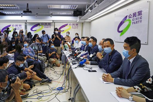 Hong Kong disqualifies 12 opposition nominees for assembly