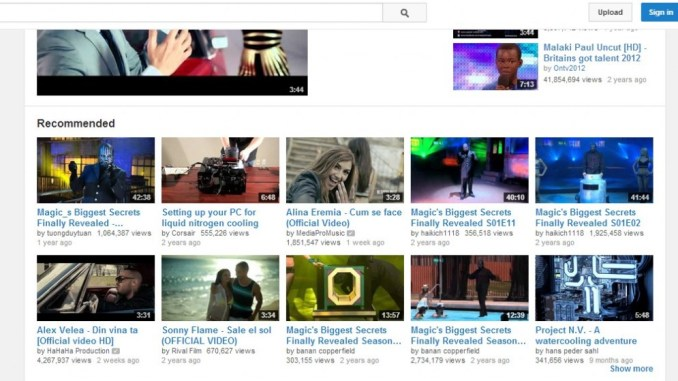 Online Video Websites