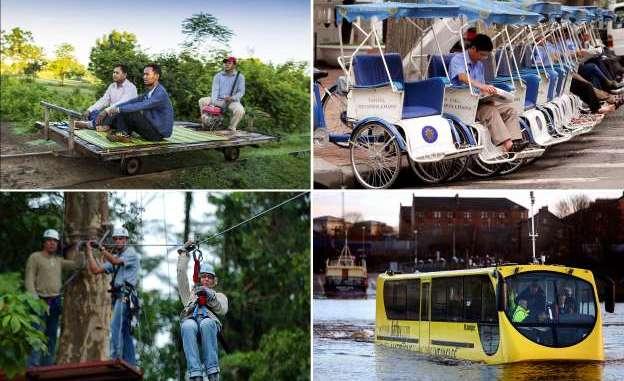 Unusual Public Transport