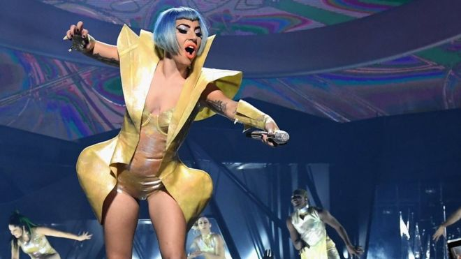 Lady Gaga plummets off Point in a fan's arms Throughout Vegas Series