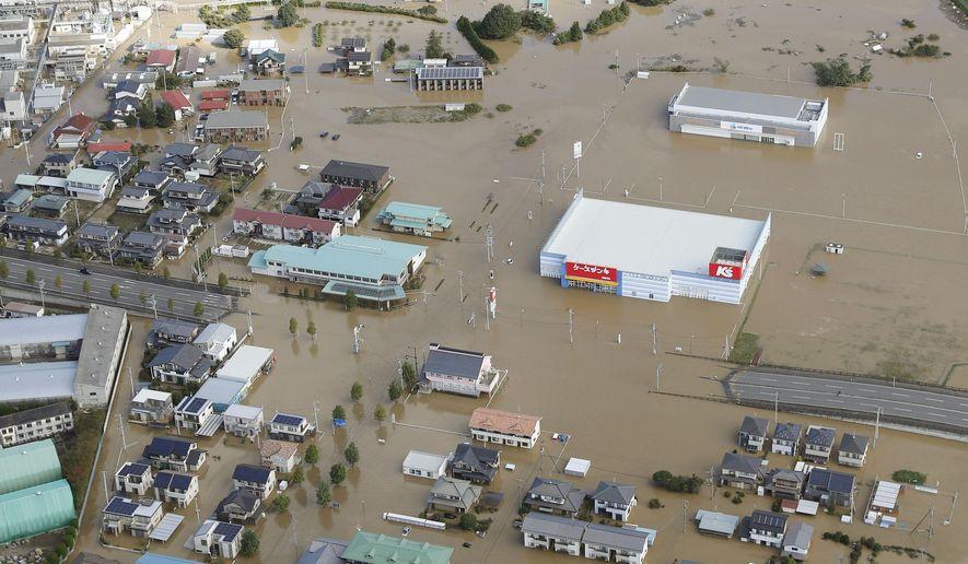 Typhoon leaves Around 33 dead in Japan
