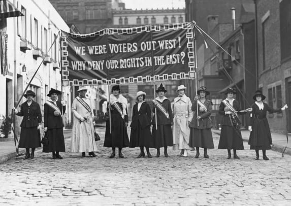 Women Suffrage-GettyImages-514700294