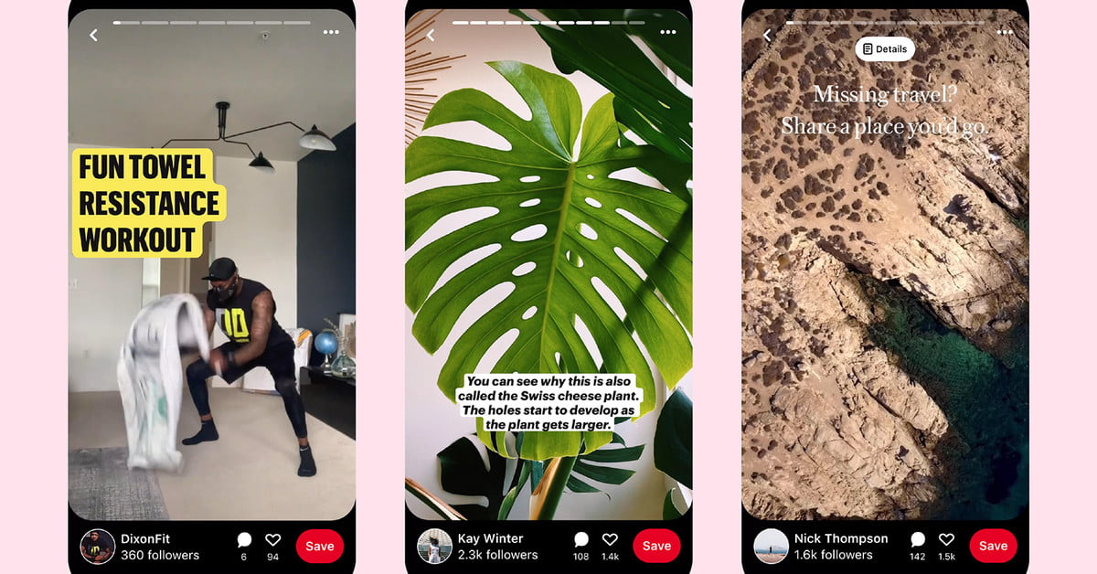 Pinterest Stories Launch in Beta, Live Forever