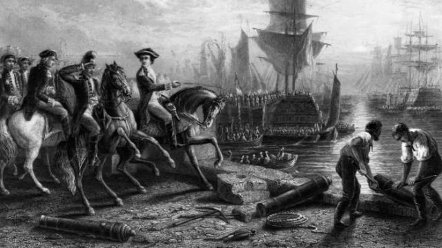 Siege of Boston, American Revolution