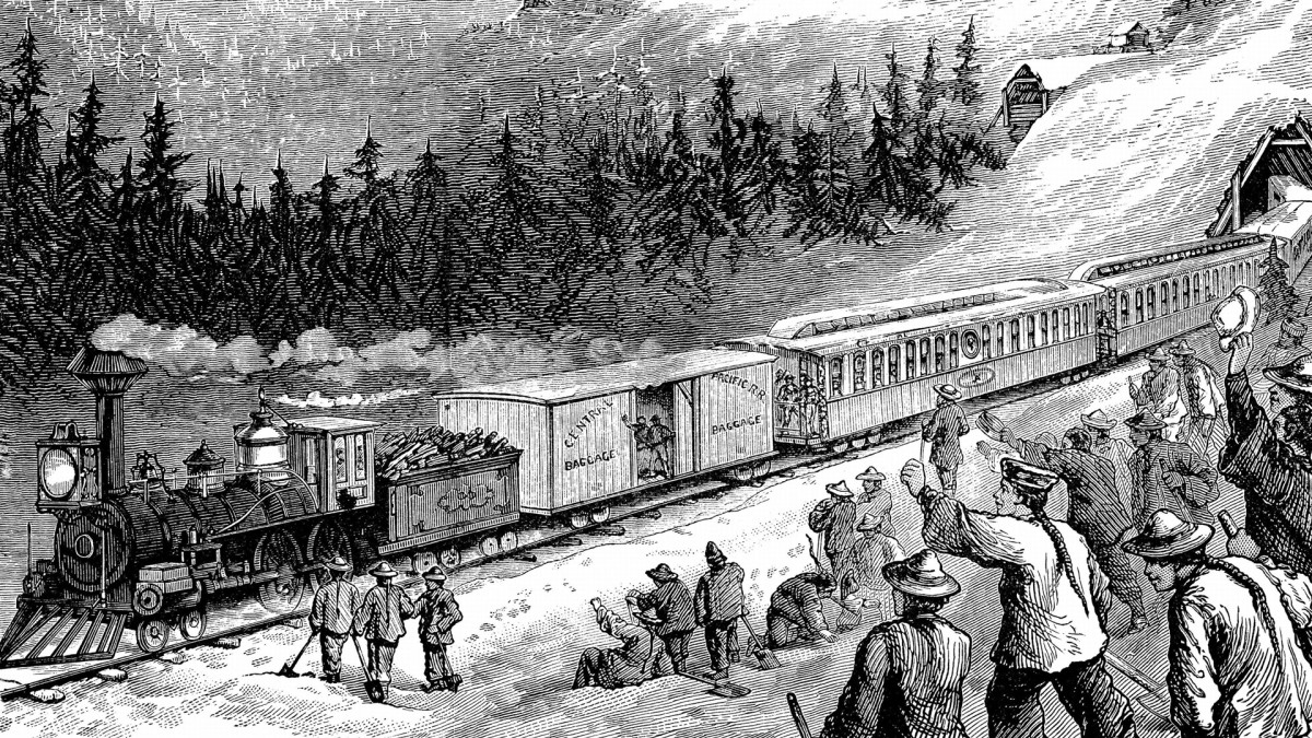 What Was It Like to Ride the Transcontinental Railroad?