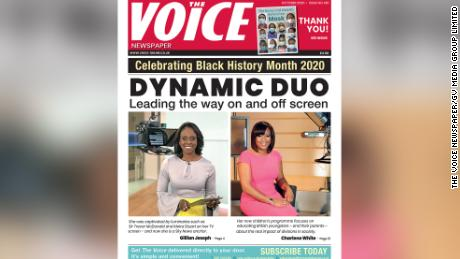 The Voice & # 39; October 2020 issue's profile anchors Juliana's father was Charles White Sky News and ITV respectively.