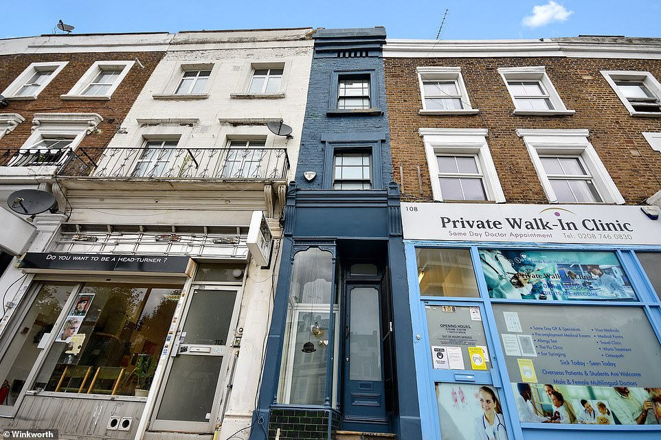 London's Narrowest House Only 5ft 5in Across