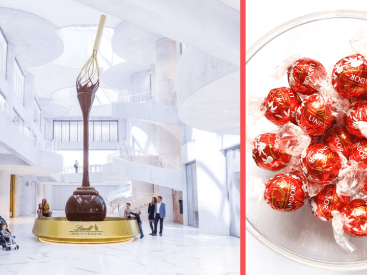 Lindt Opens the World's Largest Chocolate Museum in Switzerland