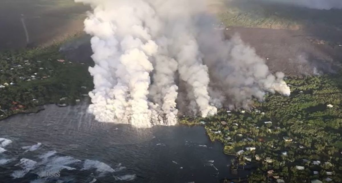 Green Lake Was Completely Boiled Away During Kīlauea's 2018 Eruption