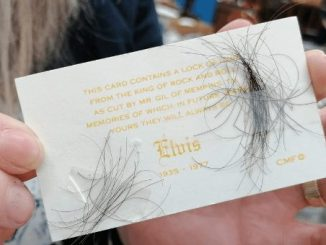A Lock of Hair Elvis Presley's Could sell for Thousands at Auction