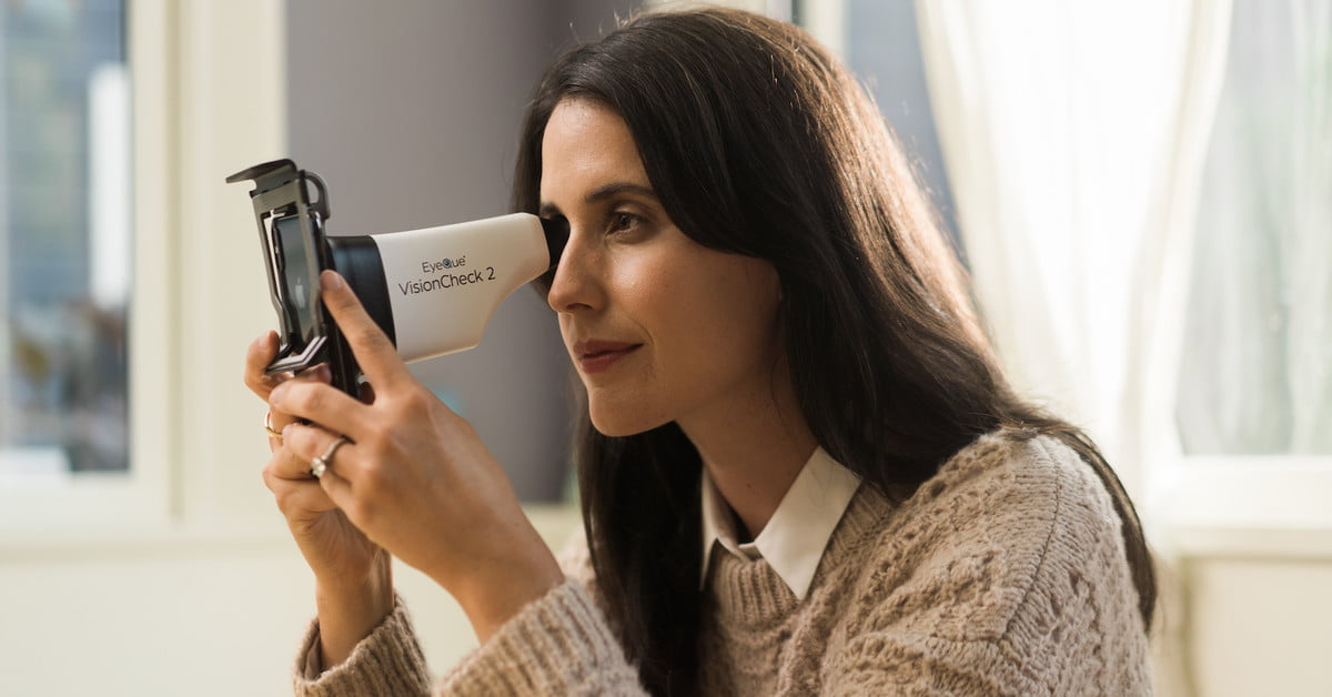 Phone Gadget Means You May Not Have to See Optometrist Again