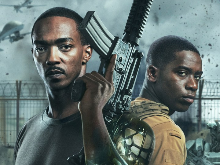 Hostile Zone on Netflix: what is this war movie with Anthony Mackie as an android? - Cinema News