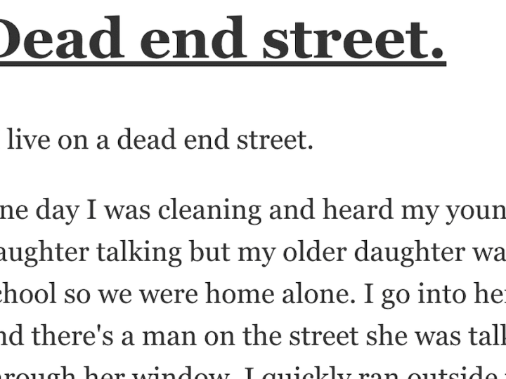 People Share the Scariest True Stories of Their Lives