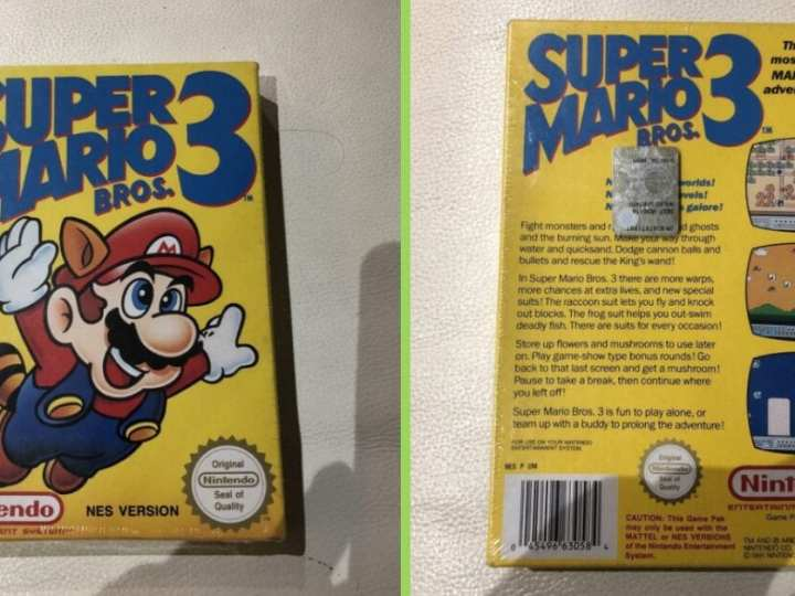A Sealed Copy of Super Mario Bros. 3 Just Sold For BIG Bucks