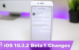 Apple Releases iOS 10.3.2 Beta 1 - What's New?