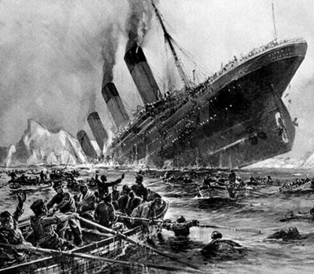 Titanic_sinking,_painting_by_Willy_Stöwer