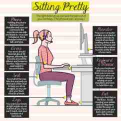 Best Ergonomic Chairs For Back Pain Pink Fuzzy Chair Cushion Sitting Pretty | Daily Infographic