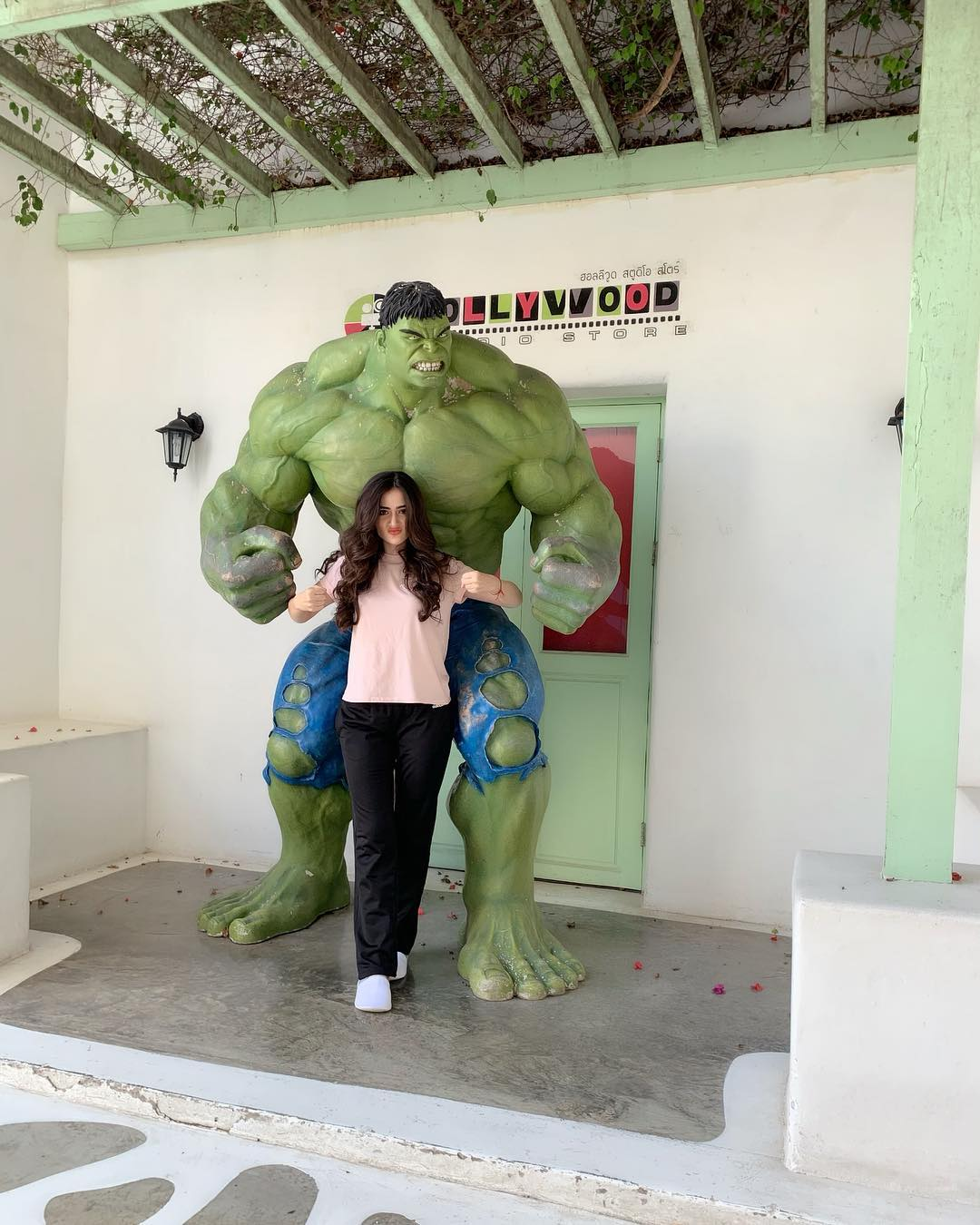 New Photos of Sana Javed in Thailand