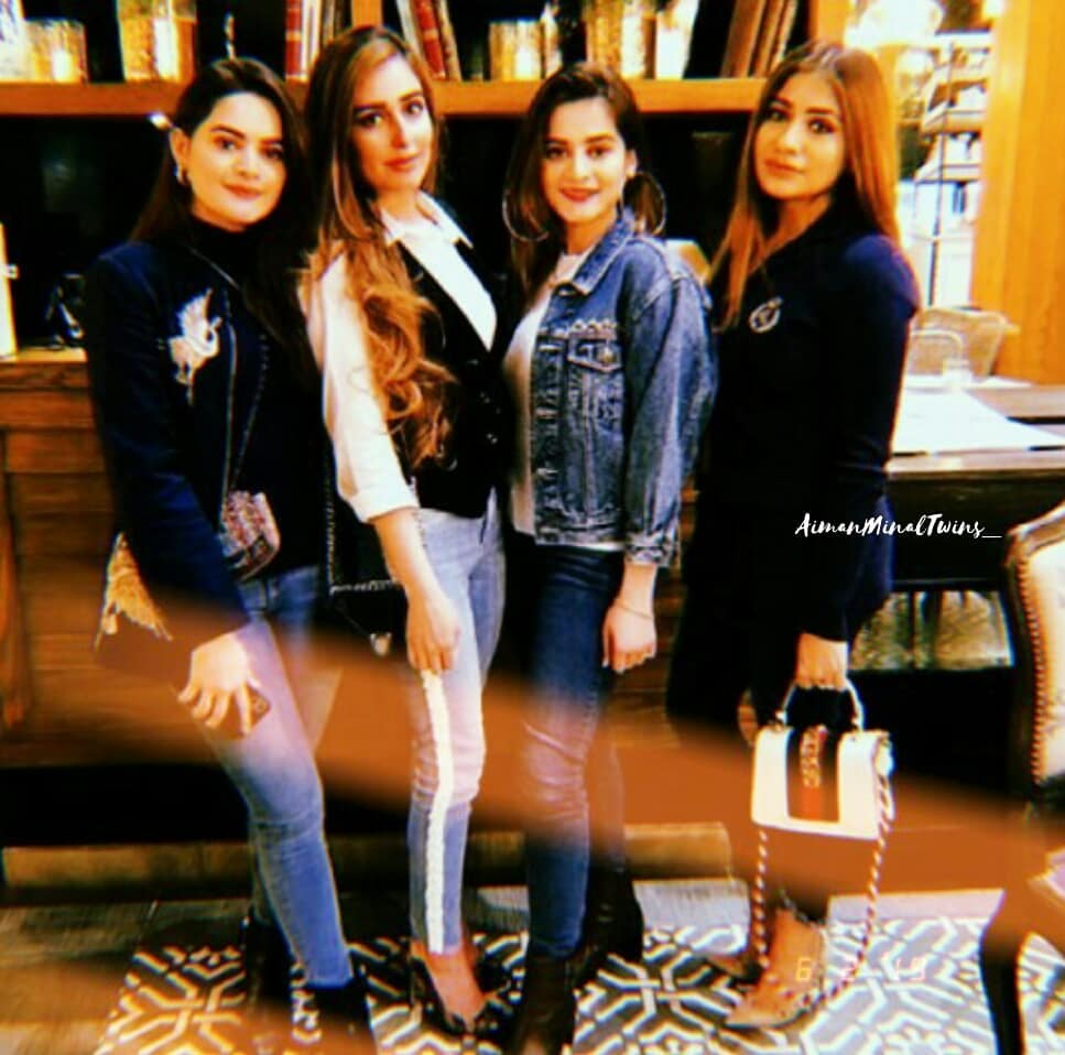 New Photos of Aiman and Minal with their Friends