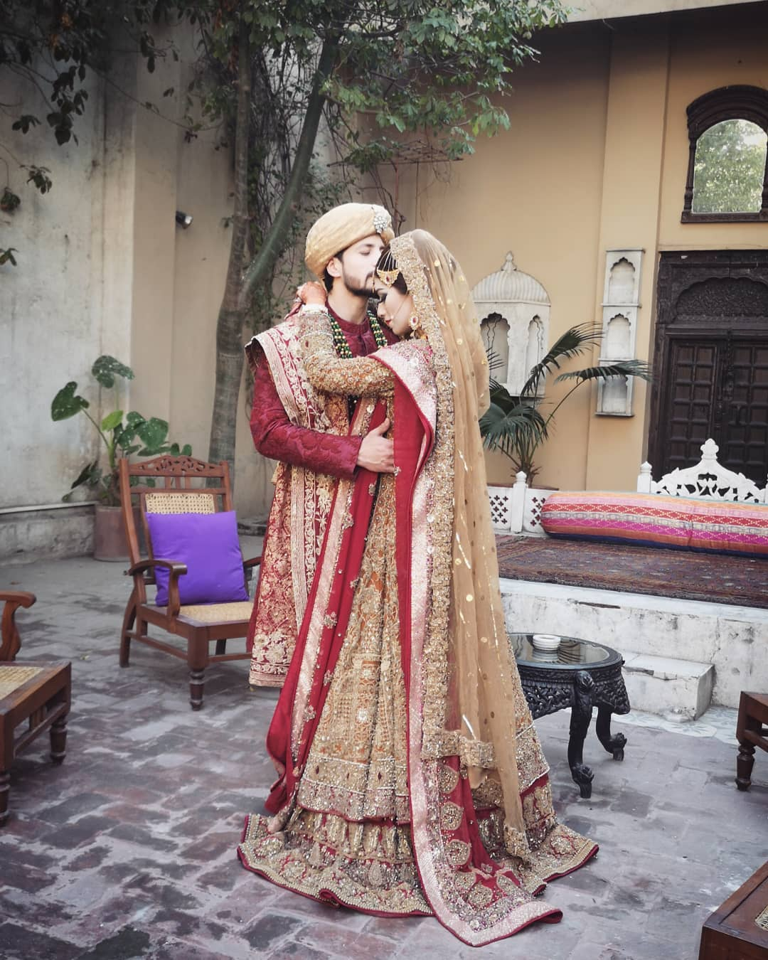 Awesome Wedding Photshoot of Salman Faisal with his Bride Neha