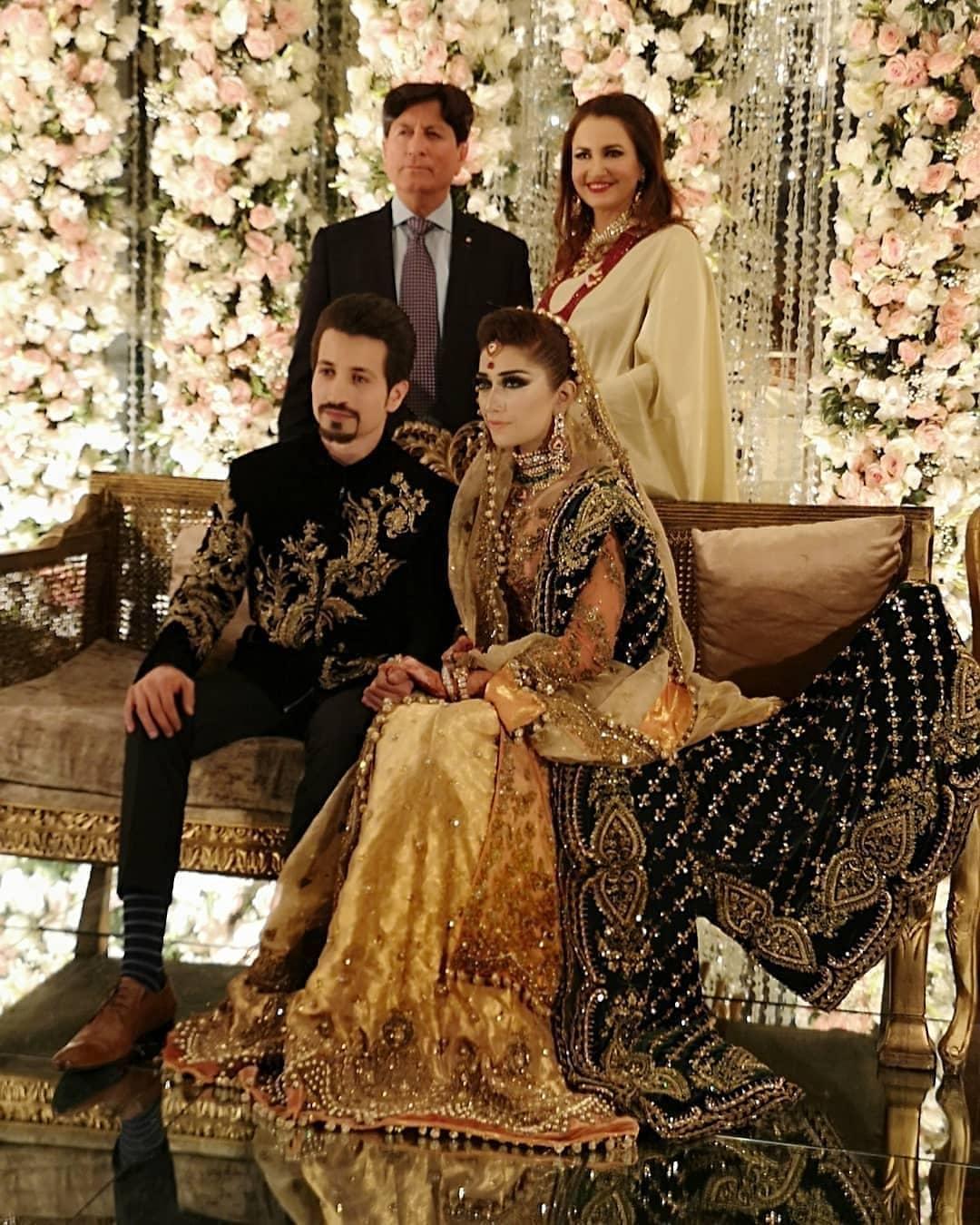 Awesome Photos of Saba Faisal's Son Salman Faisal Walima