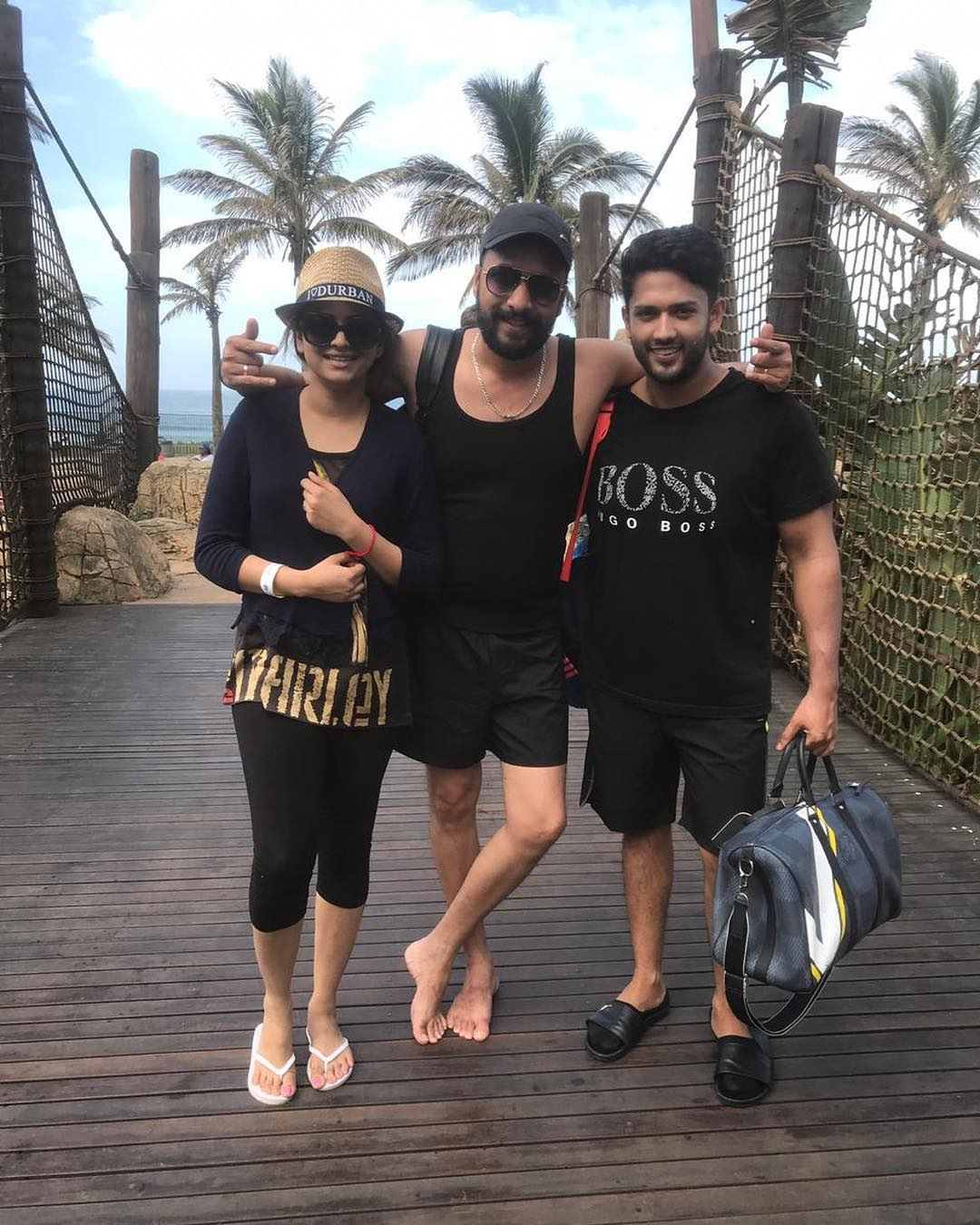 New Photos of Benita David with her Husband in South Africa